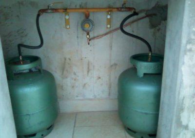 instalação de gás p 13 kg